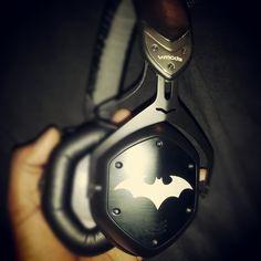 Custom Batman Headphones