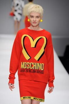 Moschino autumn/winter 2014/15