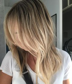 The right amount of blonde #blonde #balayage #faceframe #thesocietyforhair #terrigal #coloursalon #blondespecialist #behindthechair #btcpics #dimensionalblonde #Redken #redkenshadeseq #hairinspo