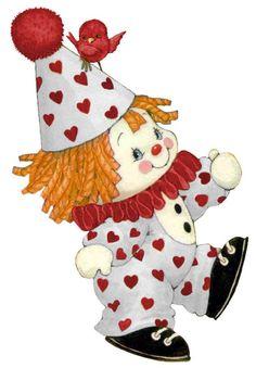 Clown By Ruth Morehead