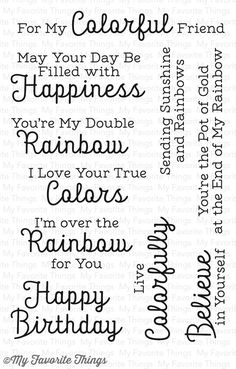 Rainbow Greetings