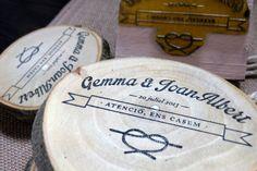 Wedding Branding | Save the date by www.hellomireia.com