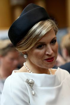 Queen Máxima Looks So Chic Meeting President Obama