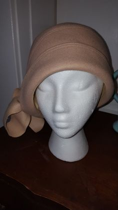 Vintage 1920s Style Cloche Hat by DolledupDesirae on Etsy