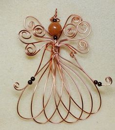 metal wire angel - Google Search