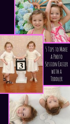 5 Tips to Make a Photo Session Easier with a Toddler                    Taking styled photos with toddlers is not always easy. These are my tried & true tips to make a photo session easier with a toddler.