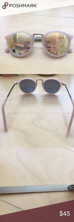 """Madewell Sunglasses super cute madewell """"indio"""" sunglasses! fun and colorful perfect for spring and summer. brand new never worn- just don't work with my style! Madewell Accessories Sunglasses"""