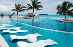 Kandooma Resort in The Maldives, luxury central!