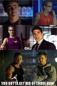I personally don't trust Palmer. He might become Atom but I still don't trust him. Whys he gotta take Oliver's woman and company. You're taking his world. Ya need to go