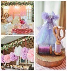 Sleeping Beauty themed birthday party via Kara's Party Ideas | KarasPartyIdeas.com (4)