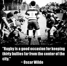 Rugby is good