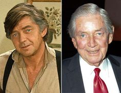 """From The Golden Age of Hollywood R.I.P. Ralph Waite (June 22, 1928 – February 13, 2014) Best known for playing John Walton on 70's hit classic """"The Waltons""""."""
