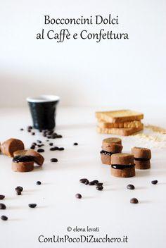 Dolcetti di riciclo al caffè e confettura: https://conunpocodizucchero.wordpress.com/2014/09/03/bocconcini-dolci-al-caffe-e-confettura/