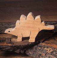 Stegosaurus wooden dinosaur toys