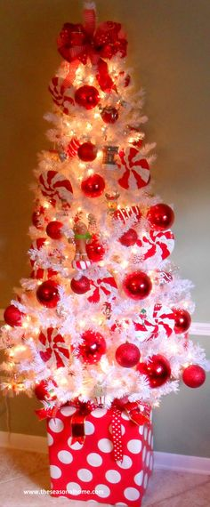 Cute Peppermint Tree--How to: gift box base