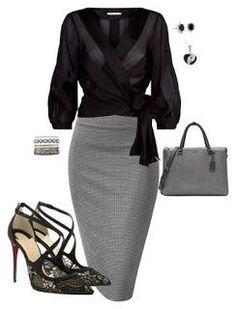 Christian Louboutin OFF! 52 Ideas Fashion Classy Outfits Christian Louboutin For 2019 Business Fashion, Business Mode, Business Outfits, Office Fashion, Work Fashion, Fashion Looks, Fashion Black, Fashion Fashion, Business Attire