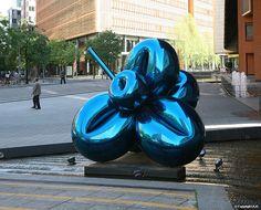 Jeff Koons - Baloon Flowers, Marlene-Dietrich-Platz, Berlin