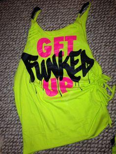 Get Funked Up Zumba® Workout Shirt 091f9a9ffe1