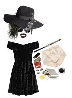 """""""if i had a tumor i'd name it marla"""" by glitterbones ❤ liked on Polyvore featuring H&M, Dolce&Gabbana and Boohoo"""