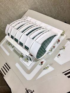 Maquette Architecture, Architecture Student, Facade Architecture, Architecture Models, Space Truss, Archi Design, Arch Model, Architectural Section, Premium Wordpress Themes