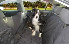 """Deluxe Waterproof Dog Seat Cover, Premium Quality, Extra Durable, with Non Slip Backing. The Best Dog Seat Covers for Cars, Trucks and SUVs! Includes 2 Bonus Dog Dishes! (58"""" X 60"""", Black) Travelingpaws http://www.amazon.com/dp/B018W9WVZW/ref=cm_sw_r_pi_dp_nixLwb1WPGNYM"""