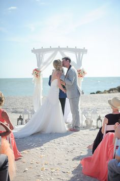 South Seas Island Resort Weddings | Captiva Island | Brandon McNabb Photography #beachwedding