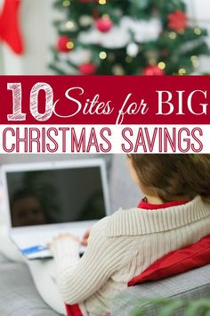 Christmas budget nonexistent? That's okay! These 10 sites for BIG Christmas savings will help you find awesome gifts while staying well within your budget!