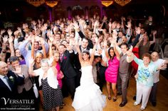 I think it's safe to say that everyone at this Versailles Ballroom wedding had an AMAZING time! Call us today at 732-719-1206 to schedule your personal tour today! www.VersaillesCaterers.com. Photo courtesy of Versatile Event Designs.  #NJWeddings #WeddingsNearTomsRiver #VersaillesBallroom #WeddingsNearJerseyShore #Bride #Groom #Weddings #CentralNJWeddingVenue #NJWeddingVenue #WeddingPhotography #NJBanquetHall #NJWeddingVenue #Ramada #JerseyShoreWeddings