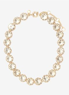 Crystal Wreath Necklace | J. Crew