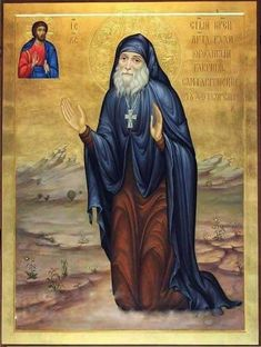 """wisdomoftheholyfathers: """" In the end times a man will be saved by love, humbleness and kindness. Kindness will open the gates of Heaven; humbleness will lead him into Heaven; a man, whose heart is. Saint Gabriel, Byzantine Icons, Orthodox Christianity, Art Icon, Orthodox Icons, Christian Art, Religious Art, Pet Birds, Religion"""