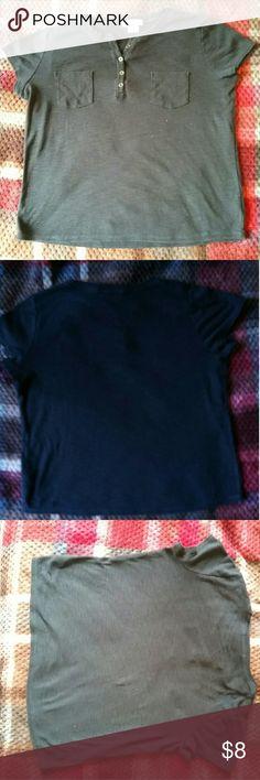 Liz claiborne shirt Liz claiborne black button down shirt Liz Claiborne Tops Button Down Shirts