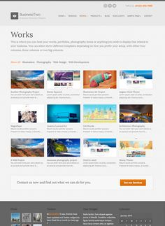 BusinessTwo - If you liked our previous Business and Portfolio themes you will be amazed by how powerful BusinessTwo is.