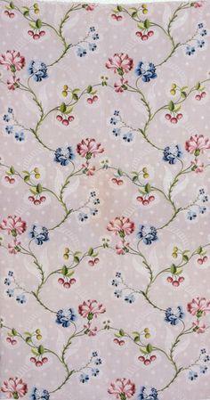 -Shabby Chic Fabric Sample---13 cm  Wide x 11 cm High--Plus Selvedge--Cotton