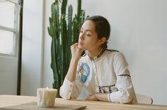 Hand Embroidered Vintage Shirt