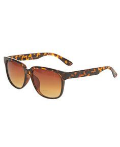 Glossy Square Sunglasses
