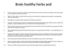 From:http://www.amenclinics.com/cybcyb/10-brain-healthy-spices/