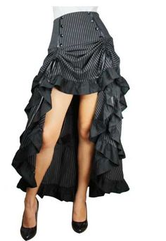 Victorian Skirt / Steampunk Skirt. I have this skirt and love it! Perfect neo-victorian look. $$75.95