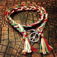 "#Bracelet ""Freedom""  #charms #HandMade #MadeInFrance #Lifestyle #rio #bresil #brasil #france #peace"