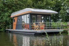 houseboats pontoons examples matrix with Matrix Pontoons Houseboats Examples with PontoonsYou can find Houseboats and more on our website Pontoon Houseboat, Houseboat Living, Pontoon Boats, Houseboat Ideas, Floating Dock, Floating House, Lakefront Property, Tiny House Movement, Boat Design