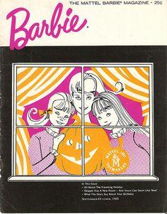 Barbie - The Mattel Barbie Magazine #1965