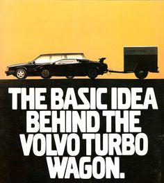 Volvo Lamborghini ad | Vintage | 80s