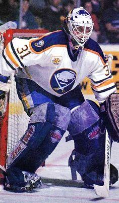 Daren Puppa Hockey Goalie, Field Hockey, Hockey Players, Ice Hockey, Buffalo Hockey, Buffalo Sabres, Hockey Room, Hockey Season, Goalie Mask