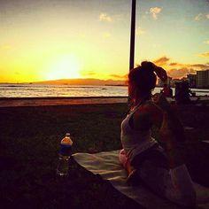 Beach Sunset Yoga Hawaii: Amazing Class