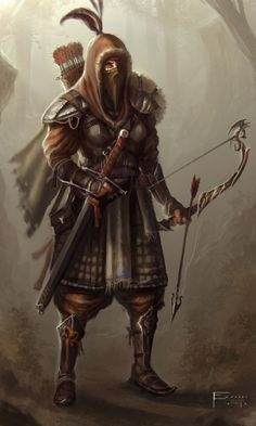 Archer Concept Art Woodland archer