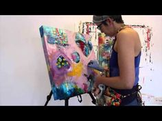 ▶ Feb Auction Painting with Belinda Fireman - YouTube