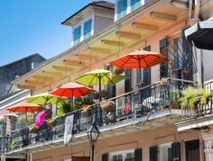French Quarter balcony in New Orleans