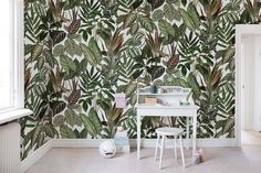 Out for a wall mural for kids? We have a wide collection of stunning kids wall murals. Wallpaper Paste, Wall Wallpaper, Pattern Wallpaper, Kids Wall Murals, Murals For Kids, Wallpaper Designs For Walls, Mural Floral, Forest Wallpaper, High Quality Wallpapers