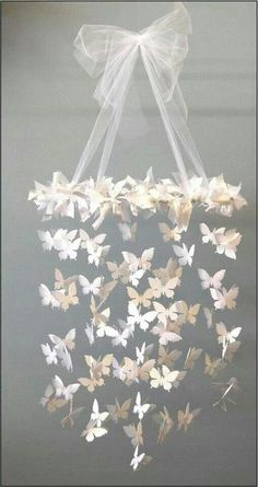 Lovely butterfly decor