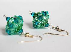 Beadapple: earrings, earrings RAW inspiration