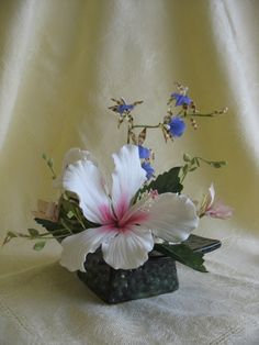 gumpaste flower arrangement
